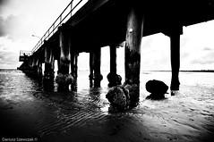 Altona Pier (Subyello) Tags: sea beach water night pier sand surf australia melbourne wideangle victoria altona lightroom nikond90 tokina1116mm