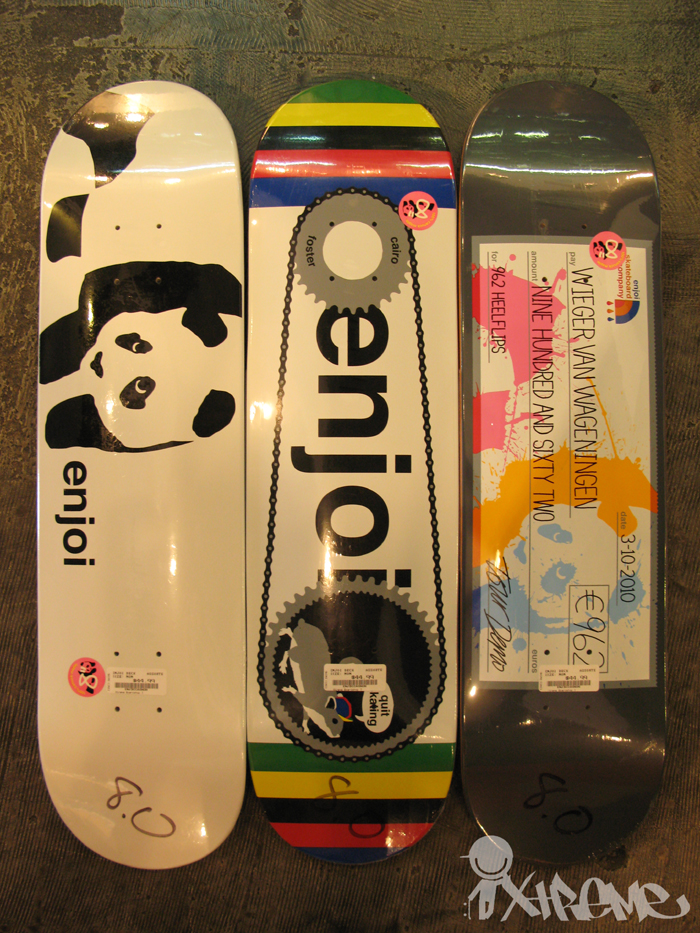 Enjoi Skateboards Spring 2010 Decks