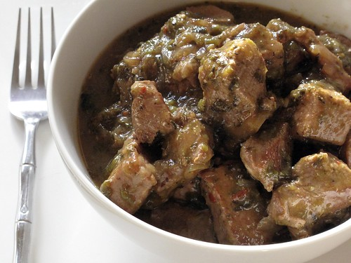 Poblano Pork Stew