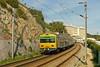 Contracurvando (Tiago Alves Miranda) Tags: portugal train emu cp alstom cascais gec comboio automotora suburbano 3261 3250 3260 emef monteestoril linhadecascais sorefame tiagoalvesmiranda