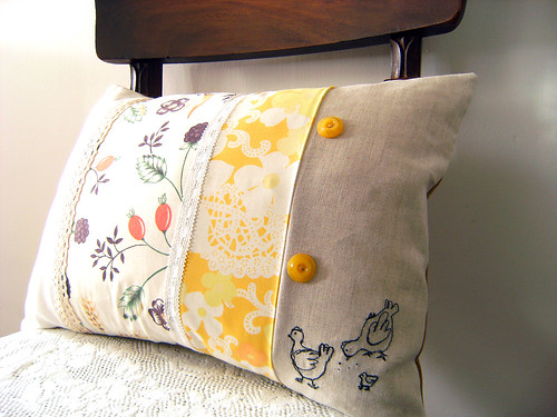 Chicken run cushion