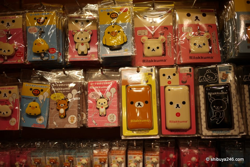 A look at some of the iPhone hard cover cases, earphones, keyholders and other products.
