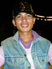 My brother Andrew (globaldenny) Tags: man hat cambodian young handsome ugly denim vest