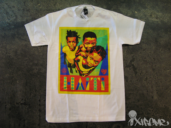 Obey Spring 2010 T-Shirts (Haiti)
