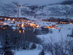 Deer Valley at night...