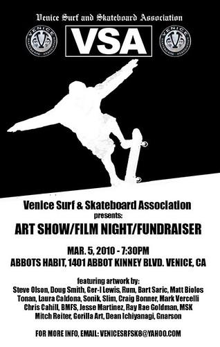 VSA fundraiser