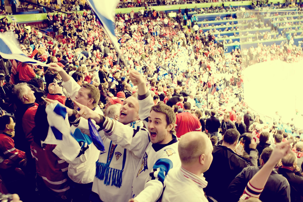 Mens Bronze Metal Hockey - Finland vs. Slovakia.
