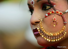 utsav (Milapsinh Jadeja) Tags: life people woman india women jewellery ornament nosering utsav nath