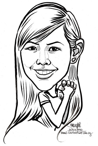 Caricature for K C Dat -  Puay Shan