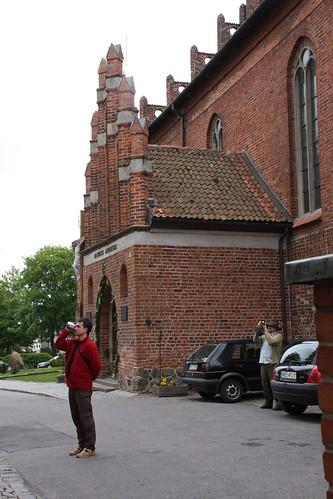Kruchta od strony północnej bazyliki św. Jerzego w Kętrzynie
