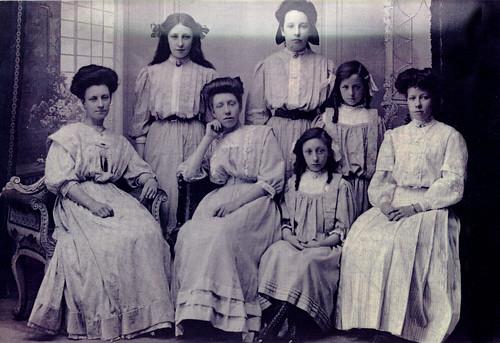 Peden Sisters,1906.