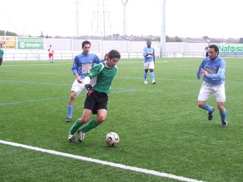 Binéfar 1 - Altorricón 1 (07/03/2010)