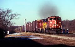 The SD60M (The Mastadon) Tags: road railroad chicago train illinois midwest rail railway trains il transportation locomotive railroads chicagoland douchebag flatlander midwestern