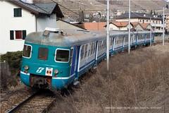 Le 803 xxx - R5204 - Tirano FS - 07/03/2010 (DeCampo94) Tags: ale treno 803 stato trenitalia binari treni 035 ferrovie binario regionale 5204 tello rfi xmpr livrea