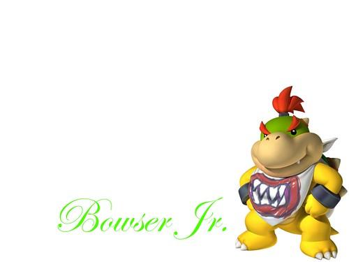 Bowser Jr wallpaper (Widescreen)