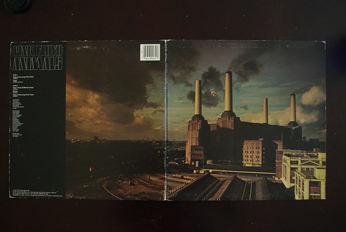 "Pink Floyd ""Animals"" LP art"
