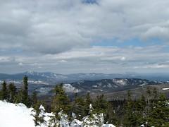 From Hurricane Mountain (AEMT1) Tags: mountain ny newyork mountains nature clouds outdoors scenery mt hiking hurricane scenic peak adirondacks valley snowshoeing peaks keene adirondack mts 46 lakeplacid highpeak elizabethtown 46r 46er nundagao sodarange