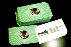 Armadillo Business Cards 2010 - by ctoverdrive