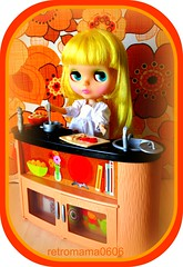 Lily in the kitchen !!!