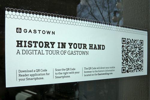 QR Codes & the Gastown Blog