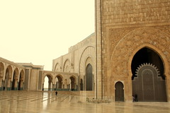25 mil fis dentro da mesquita (Evandro Faleiro) Tags: casablanca marrocos hassanii