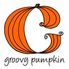 Groovy Pumpkin logo - Colour