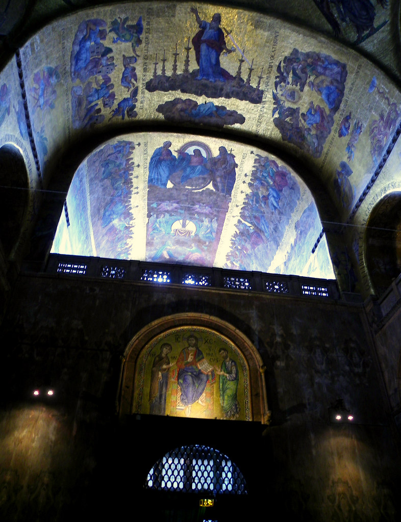 Venice - St. Mark's Basilica Ceiling