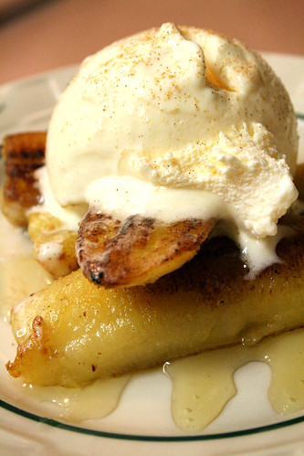 Fried Banana Sundaes.