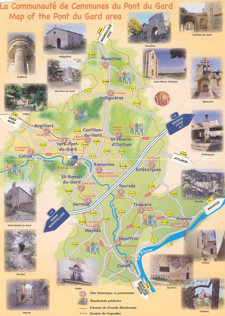 mapa remoulins