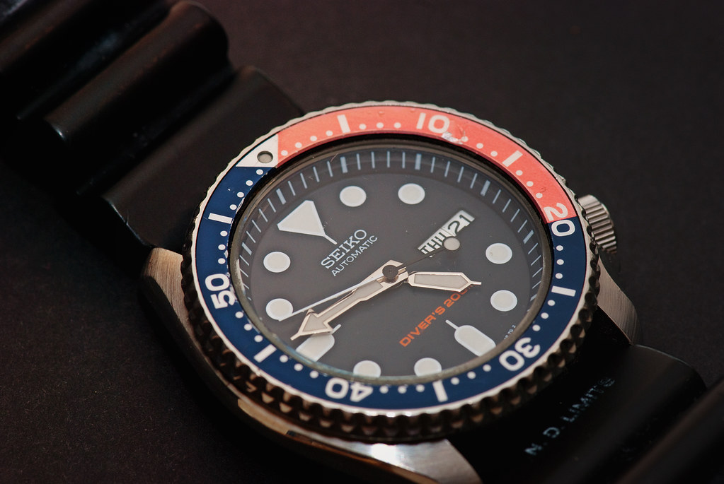 The Divemasters Seiko Automatic watch