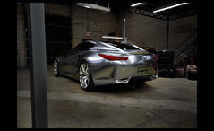 The Infiniti Essence (B. R. Murphy) Tags: sports car silver performance inspired super essence concept coupe infiniti hev