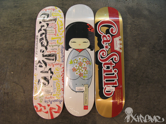 Chocolate Skateboards Spring 2010 Decks
