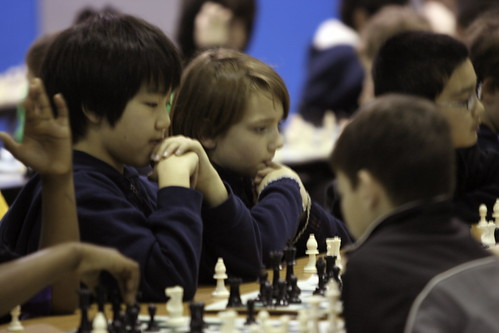 3/13/10 - Nicholas at his first chess tournament