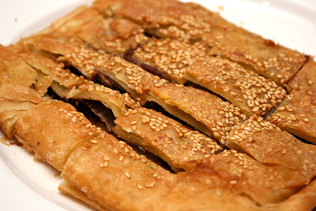 Panfried Red Bean Pancakes