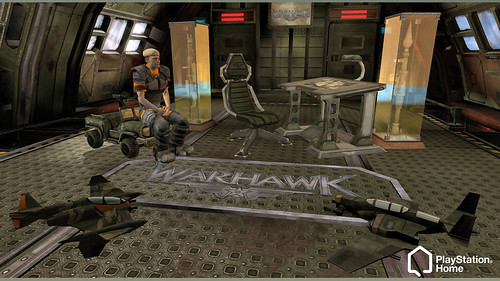 PlayStation Home Warhawk Apartment