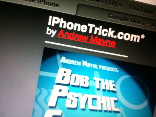 Andrew Mayne iPhone Tricks
