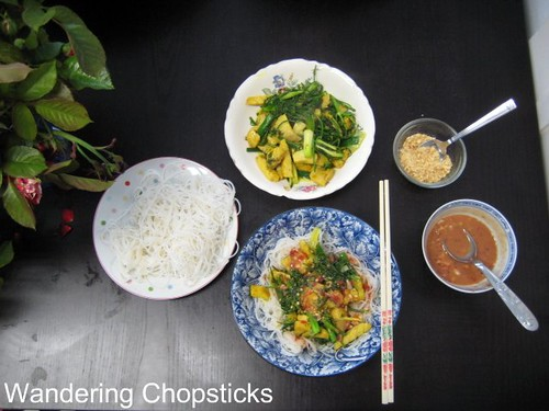 Cha Ca Thang Long (Vietnamese Hanoi-style Turmeric Fish with Dill) 11