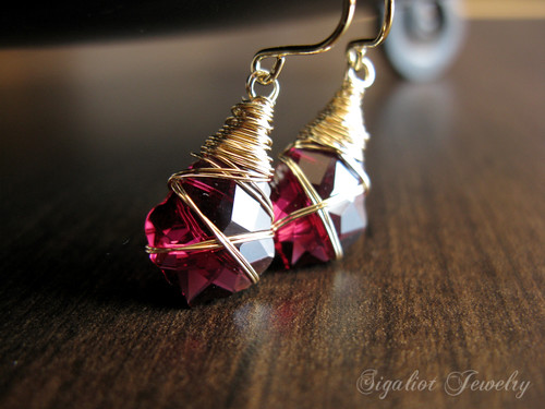 Rubi Swarovski Crystal Baroque Earrings