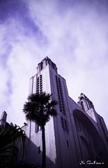 Cathédrale sacré coeur 1 (N.Calzas) Tags: casablanca morocco maroc cathédralesacrécoeur cathédrale calzas geotagged canon argentique pellicule