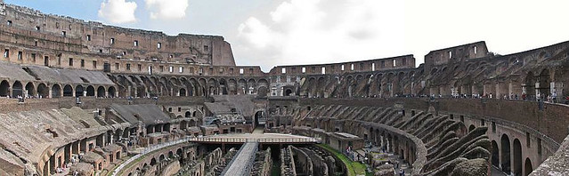 Panorama photo no. 09 - Rome, Colosseum