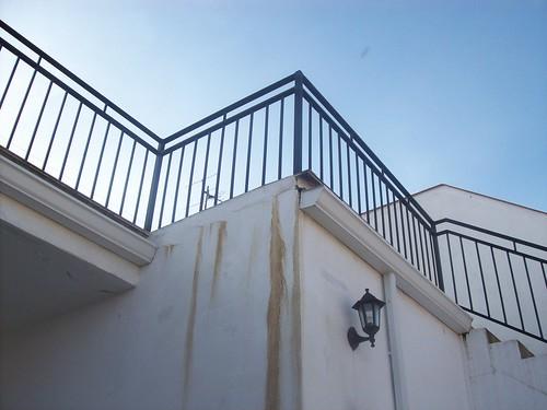 Humedades en terraza