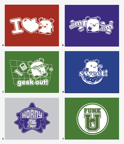 Vote on upcoming Pixipets shirts!