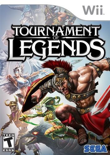 Tournament of Legends Pack Front