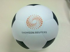 A gift from Thomson Reuters for me, thank you Reuters!