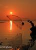 Wide Open Catch (ChR!s H@rR!0t) Tags: new light sea net nature sunrise hope dawn long exposure fishermen faith malaysia penang begin