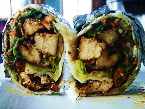 asian chicken salad wraps - 41