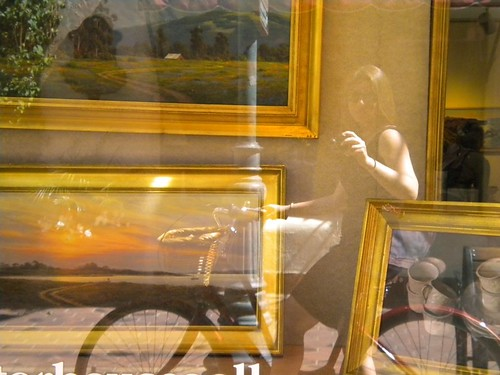 Art Gallery + Bicycle Reflection