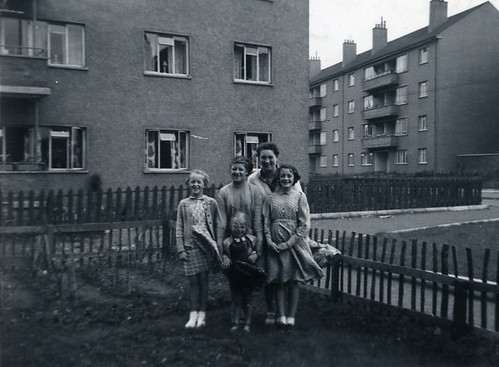 18 Balcombie Street, Ruchazie 1950s