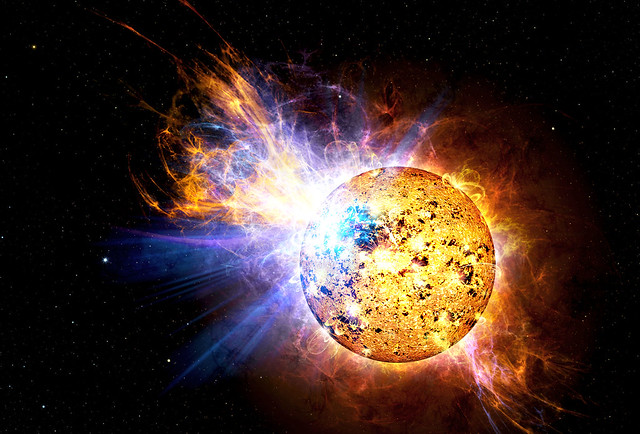 Pipsqueak Star Unleashes Monster Flare