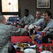 Drew Brees eats lunch with Airmen in Incirlik, Turkey